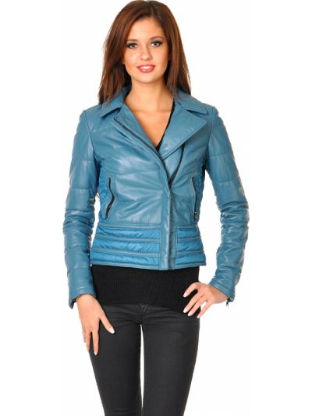 Куртка из плащевки - синяя Mor`a