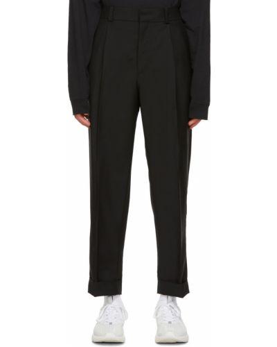 Spodnie wełniane - czarne Acne Studios