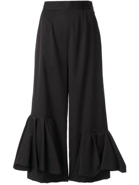 Укороченные брюки с завышенной талией с драпировкой Enföld