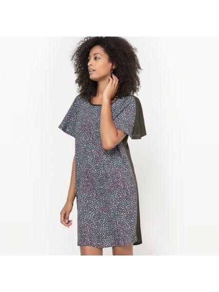 Платье мини из крепа трикотажное La Redoute Collections
