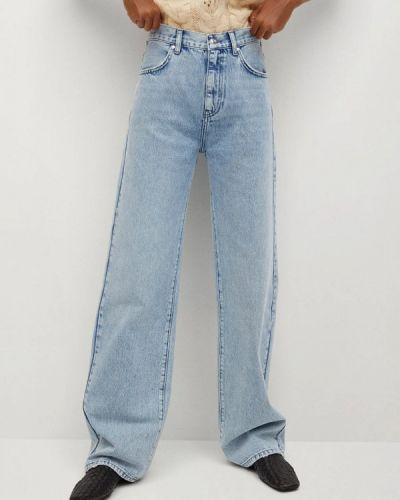 Расклешенные широкие джинсы Mango