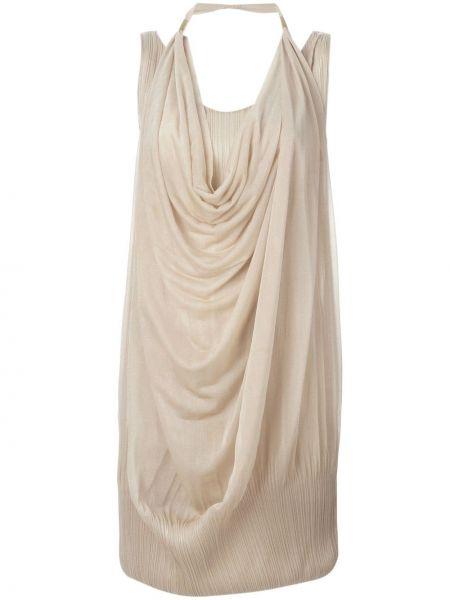 Платье с драпировкой винтажное Issey Miyake Pre-owned