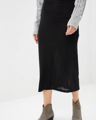 Юбка черная итальянский Sophia