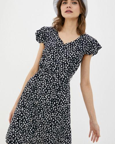 Черное платье-рубашка Luhta