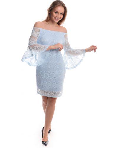 Кружевное платье - голубое Sweet Lady