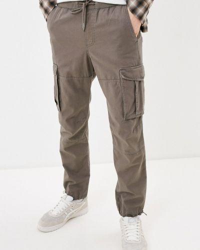 Коричневые брюки карго Ostin