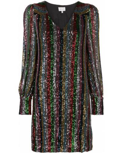 Платье мини с пайетками макси Milly