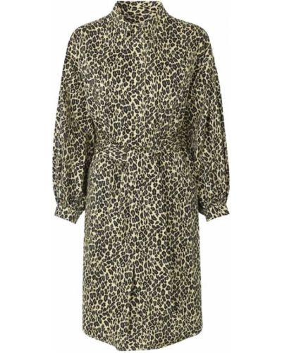 Sukienka koszulowa na co dzień zapinane na guziki Munthe
