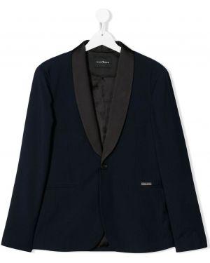Пиджак длинный с принтом John Richmond Junior