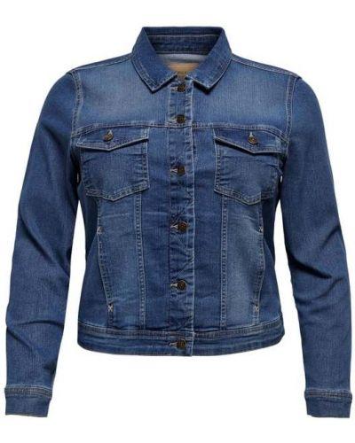 Kurtka jeansowa - niebieska Only Carmakoma
