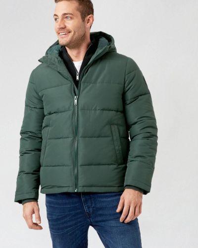 Зеленая утепленная куртка Burton Menswear London