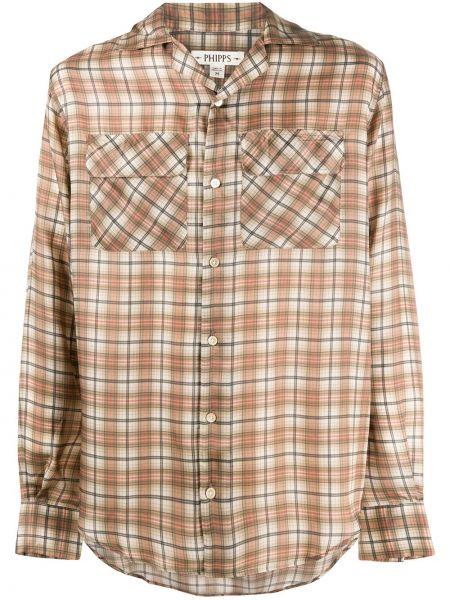 Классическая рубашка с воротником с манжетами на пуговицах Phipps