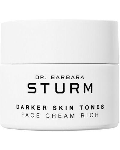 Beżowy skórzany krem na szyję przezroczysty odmładzający Dr.barbara Sturm