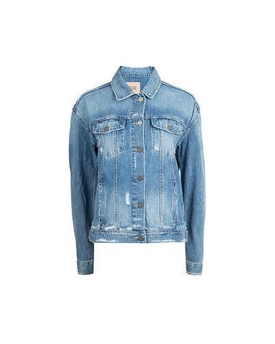 Джинсовая куртка синий Paige