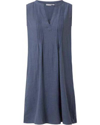 Niebieska sukienka bez rękawów Fransa