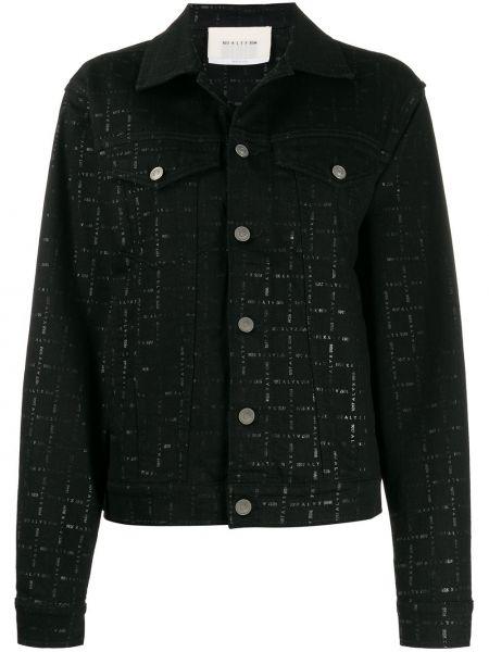 Черная джинсовая куртка с манжетами 1017 Alyx 9sm