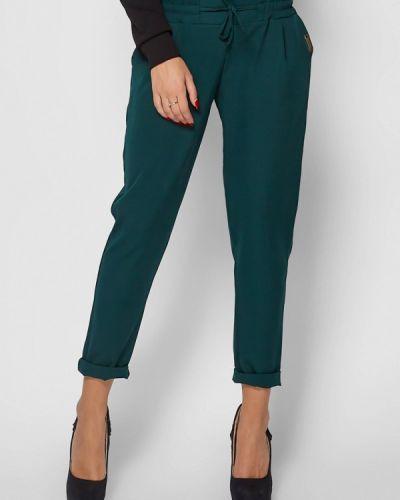 Зеленые брюки зауженные Karree