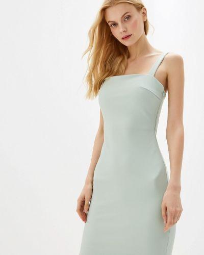 Платье прямое зеленый Gepur