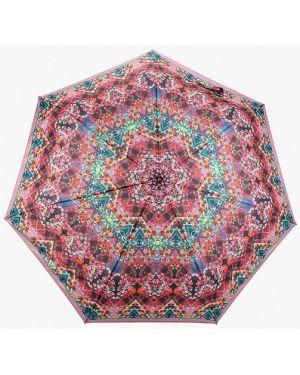 Складной зонт - красный Fabretti