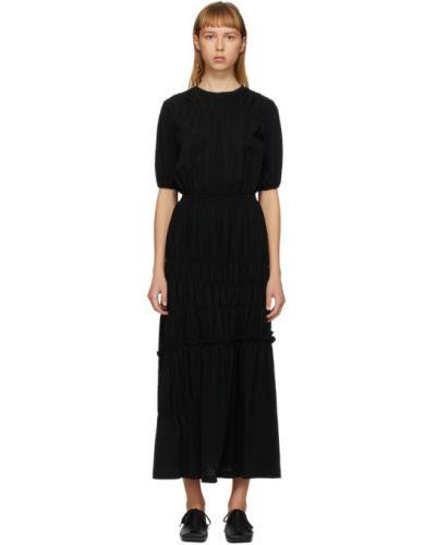 Sukienka z kołnierzem czarny Enfold