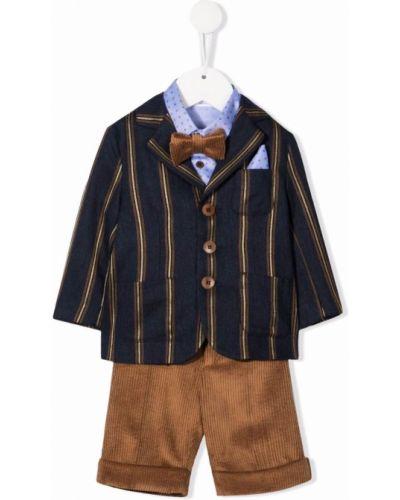 Klasyczny garnitur - niebieski Colorichiari