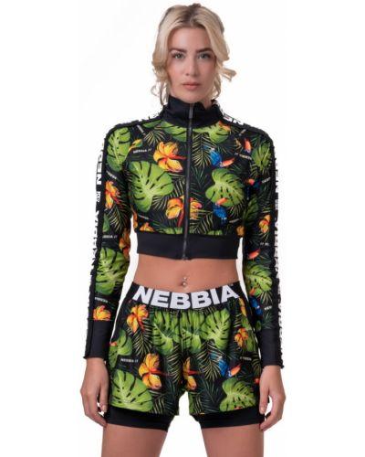 Спортивная куртка - зеленая Nebbia