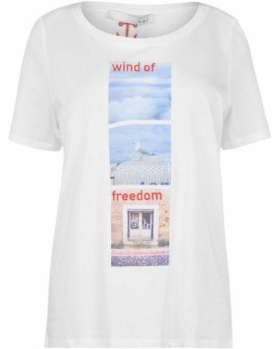 T-shirt z printem Oui