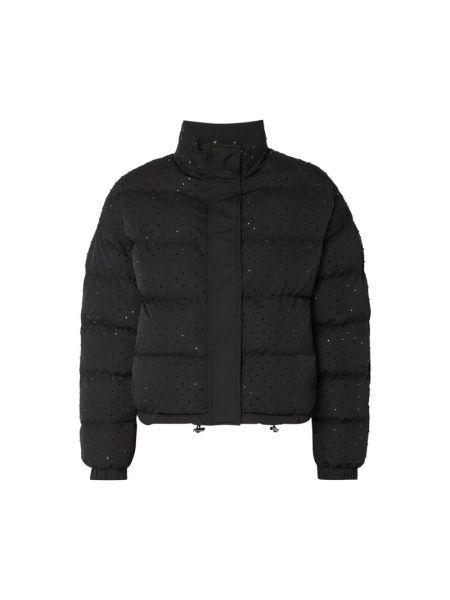 Czarna kurtka pikowana Twin Set