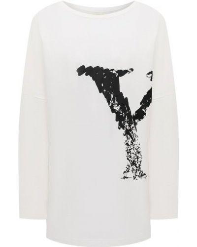 Белая хлопковая футболка для взрослых Yohji Yamamoto