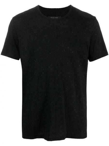 Klasyczny bawełna czarny koszula klasyczna z wiskozy Rag & Bone