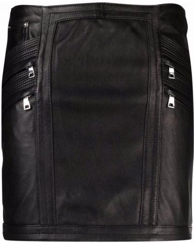 Черная юбка из полиэстера Manokhi