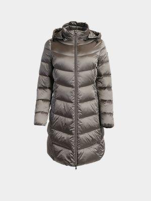 Пуховое пальто - серое Geox