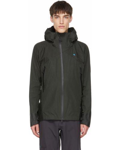 Куртка с капюшоном - черная Klättermusen