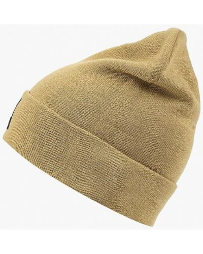 Бежевая шапка осенняя The North Face