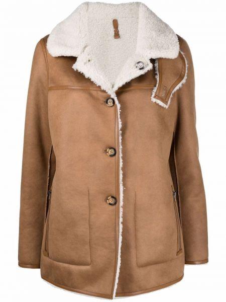 Biały długi płaszcz Urbancode