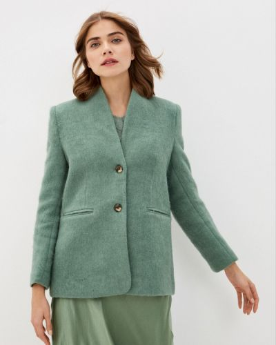 Полупальто - зеленое Soaked In Luxury