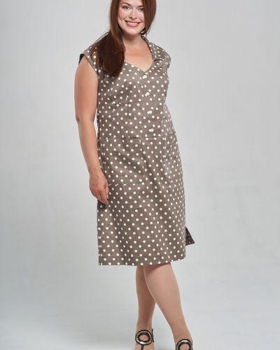 Платье с V-образным вырезом Mari-line