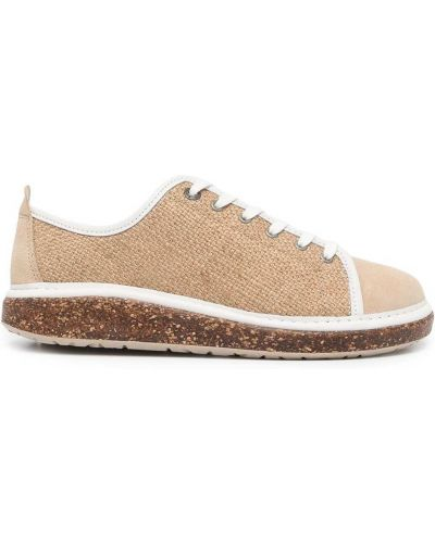 Коричневые резиновые туфли Birkenstock