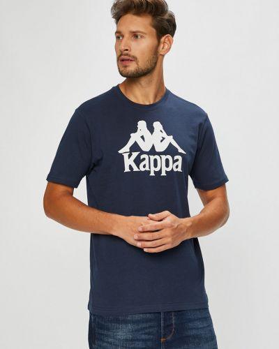 Футболка с принтом хлопковая Kappa