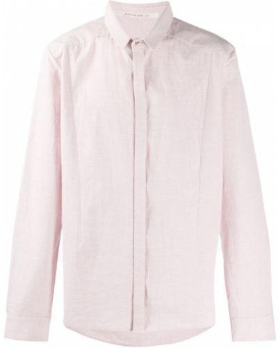 Классическая розовая рубашка на пуговицах Individual Sentiments