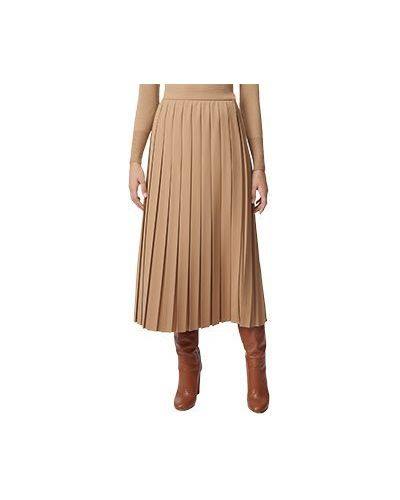 Шерстяная юбка миди Luisa Spagnoli