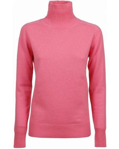 Sweter - różowy Victoria Beckham