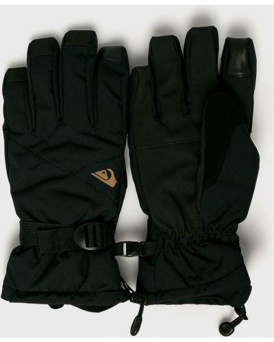 Черные перчатки сноубордические Quiksilver