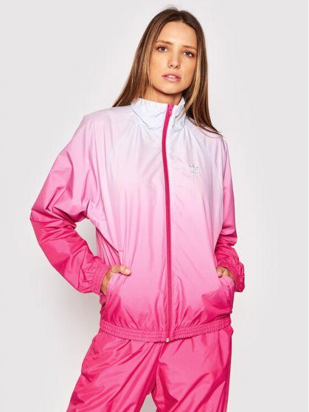 Wiatrówka - różowa Adidas