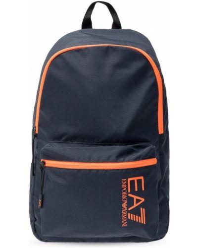 Pomarańczowy plecak Emporio Armani Ea7