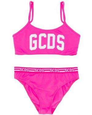 Купальник с принтом розовый Gcds Kids