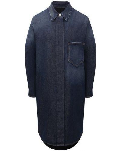 Джинсовое платье - синее Mm6