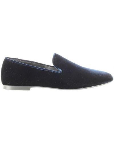 Niebieskie loafers Vince