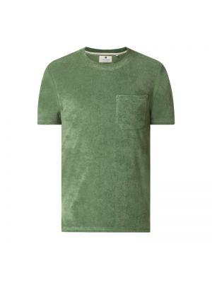 Zielony t-shirt bawełniany Anerkjendt
