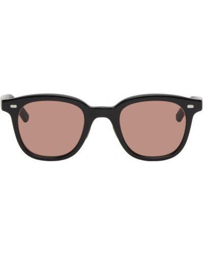 Czarne okulary srebrne Eyevan 7285